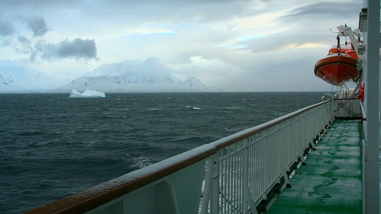 Cruise in Norwegian Sea