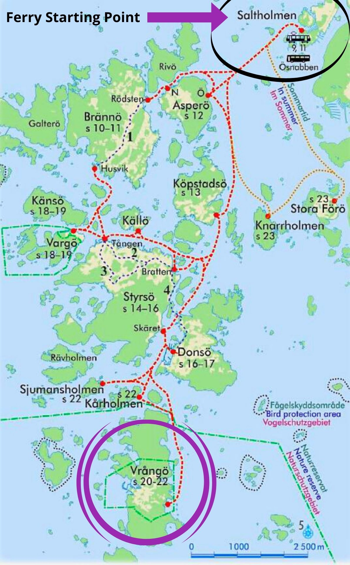 Gothenburg Archipelago Map