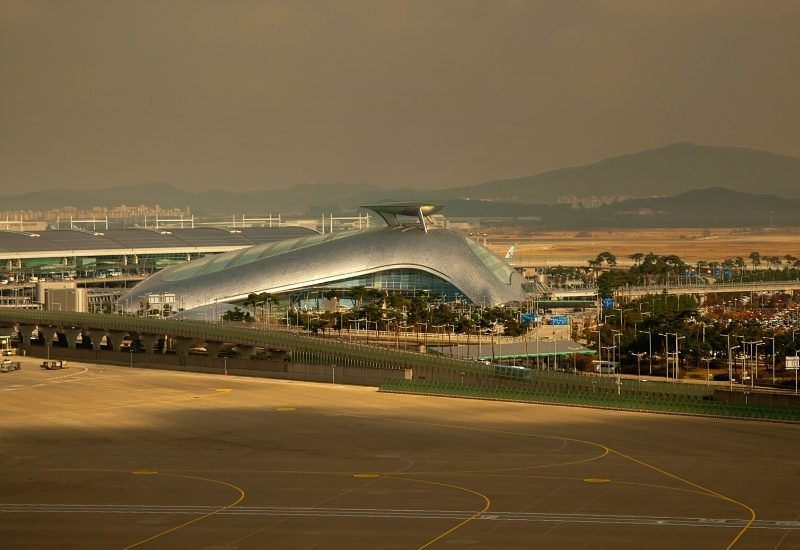 Incheon International Airport in Seoul, South Korea