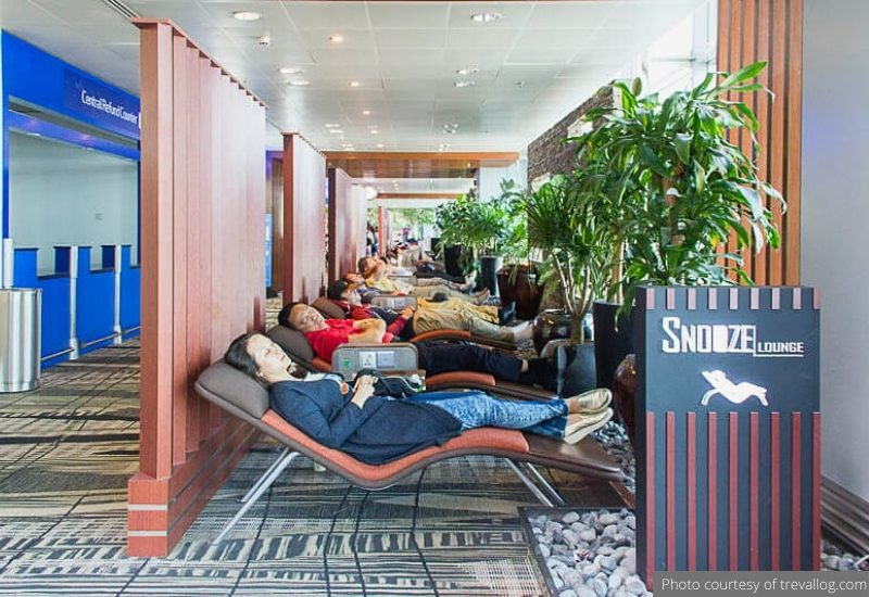 Snooze Lounge at L2 near GST Refund