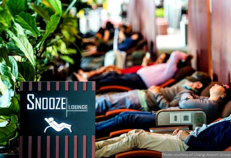 Snooze Lounge at Singapore Changi Airport