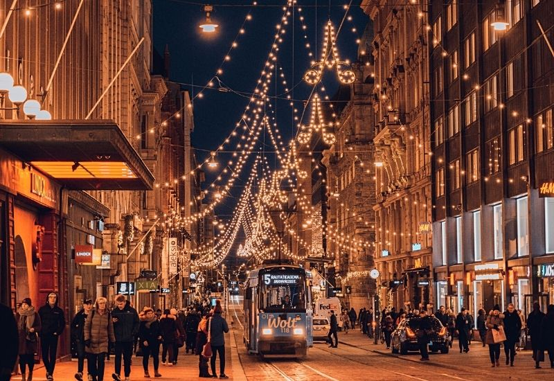Helsinki During Christmas