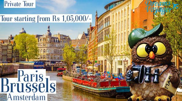 Paris, Brussles & Amsterdam tour