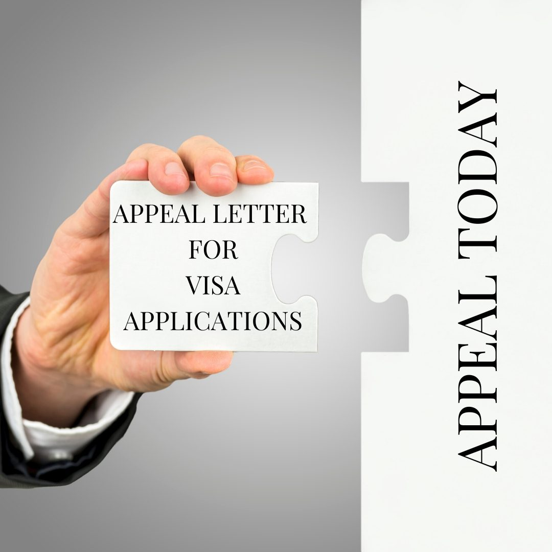 APPEAL LETTER FOR VISA