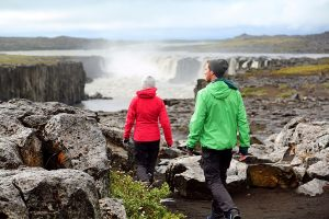 11_People near Selfoss waterfall Iceland