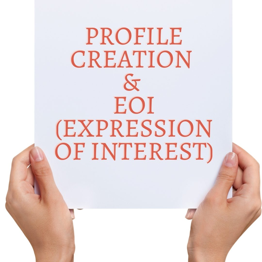 Profile creation and EOI