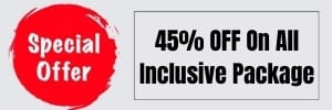 45% off on all inclusive