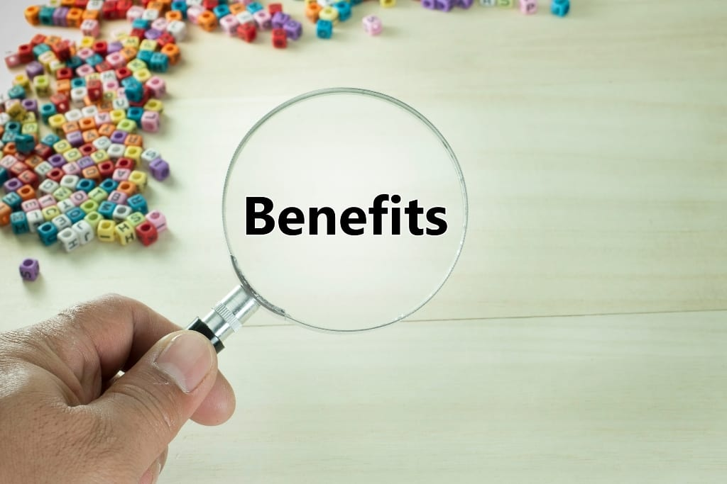 benefits for LUT